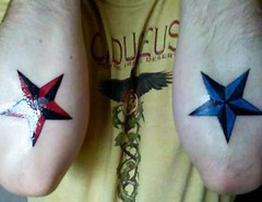 nautical star tattoo designs near elbow (tattoos_addict) Tags: tattoo star near elbow designs nautical startattoo
