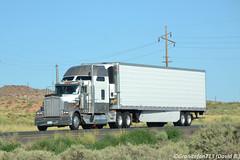 Unknown Kenworth W900L (AZ) (Trucks, Buses, & Trains by granitefan713) Tags: tractor reefer sleeper 18wheeler kenworth tractortrailer bigrig kenworthtruck refrigeratedtrailer w900l kenworthw900l sleepertractor skirtedvan
