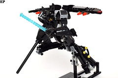 "VVCS A2-01 ""Shrike II"" Mass-Produced Variable System (ExclusivelyPlastic) Tags: design robot lego transformer military figure scifi mecha mech variable"