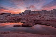 Morning Glow (Maddog Murph) Tags: pink blue red arizona orange reflection pool beautiful sunrise spectacular dawn reflecting high purple desert exquisite