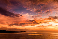 The Heavens (Kevin Dinkel) Tags: ocean cruise sea sky orange water beautiful clouds sunrise skyscape mexico photography cabo colorful heaven vibrant magenta drama epic heavenly kevindinkel