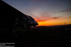 F-14 Tomcat Presidential Museum (P_Gigs) Tags: sunset ronald f14 presidential reagan tomcat musem