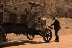 IMG_9637  1915 Dennis A - Type Lorry (SomeBlokeTakingPhotos) Tags: beamish beamishmuseum greatwarsteamfair livingmuseum countydurham touristattraction transport england history nostalgia thepast heritage oldtimer