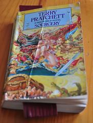 Latest Book, (Re-read) Terry Pratchett, Sorcery (Martin Pettitt) Tags: june book suffolk spring dslr terrypratchett burystedmunds sorcery nikond90 project366 afsdxvrzoomnikkor18105mmf3556ged