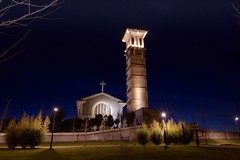 Nightlover  (Saioa Elizondo) Tags: longexposure nightphotography light art church architecture night photography lights luces noche arquitectura nikon arte iglesia nocturna nightwalk fotografa argazkia argazkilaritza nikonphotography archilovers