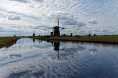 Windmills at Kinderdijk (S Walker) Tags: water netherlands architecture traditional windmills kinderdijk pumping