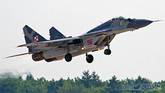 MiG-29A (9-12A) 56 Poland Air Force | ILA Berlin 2014 (Horatiu Goanta Aviation Photography) Tags: germany airplane deutschland wings fighter display aircraft aviation military jet poland airshow jetengine flughafen airforce combat ila flugzeug turbine nato jetfighter sxf aerospace militaryaviation aerobatics gurevich supersonic eddb russianaircraft sovietaircraft mikoyan mig29 afterburner schnefeld fighterjet turbojet flugschau fulcrum turbofan mikoyangurevich reheat polaf horatiu subsonic fastjet ilaberlin berlinschnefeld polishairforce aerobaticdisplay mig29a sovietfighter goanta 912a ila2014 horatiugoanta