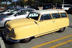 Nash Wagon, early 1950s (Ian E. Abbott) Tags: streamlined nash 1950scars nashwagon midcenturycars postwwiicars earlycompactcars