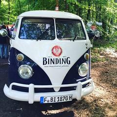 Bulli im Wldche' (Cali-Claudi) Tags: auto vw frankfurt oldtimer binding bulli