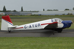 22/05/16 - Slingsby T61A - G-AYUR (gbadger1) Tags: t 22 sunday may airfield 61 matters falke 2016 wellesbourne slingsby a mountford egbw gayur