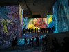 3/365 (jameswrodriguezphotography) Tags: france art museum gallery chagall provence lightshow 3365 carreiredeslumieres
