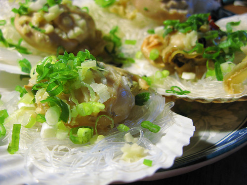 chinese Steamed Scallops recipe