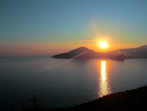 Ischia tramonto