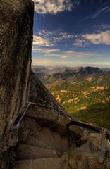 View from Moro Rock (ap0013) Tags: california park ca usa tree rock cali america nationalpark nikon cal national np sequoia sequoianationalpark moro mororock d90 sequoiatree nikond90
