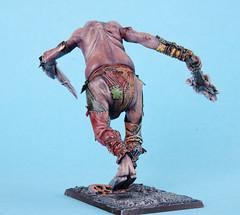 warhammer Riese Hinteransicht (Selektorkjulu) Tags: giant frank chaos kunst fantasy warhammer modell figur jürgen riese bemalen chaosriese spielspielfigur