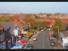 Broadstairs Tilt Shift Time Lapse (mplatt86) Tags: road trees cars kent timelapse sunny busstop broadstairs tiltshift