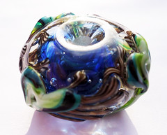 Fern (kitzbitz art glass by Jolene) Tags: glass vines lampwork floralbeads