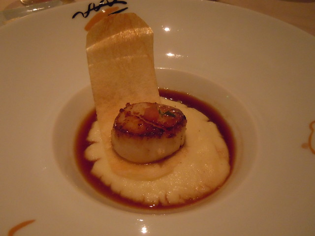 Pan Seared U-10 Day Scallop