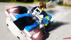 Day 333 (chrisofpie) Tags: chris pie monkey lego doug legos hero heroes minifig roger minifigure bluehat legohero chrisofpie rogeranddoug 365legos dougthechimp