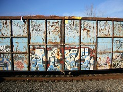 Muk123 (carnagenyc) Tags: trash train graffiti smith cycle freight agentorange grunts 907 tc5 muk123 thecool5