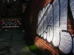 ATAK (S C R A T C H I E S) Tags: nyc graffiti atak nsf