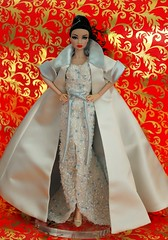 Crystal  Jubilee (napudollworld) Tags: christmas wearing fashion rose 40th princess crystal nu erin anniversary jubilee barbie fantasy carol cinderella gown titanic pure royalty disneys