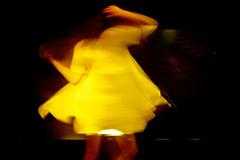 Projection #4 (job2411) Tags: blur girl naked dance women femme leg danse projection fille flou nue jambe