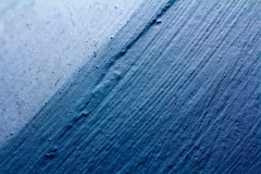340/365 (Tom Wachtel) Tags: blue white abstract wall plaster line diagonal 365 dust parallel slant speck rhizome top20blue