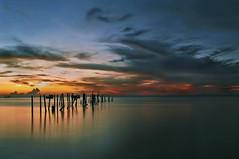 the jetty (Sam Kranz) Tags: sunset landscapes malaysia oldjetty waterscapes samkranz