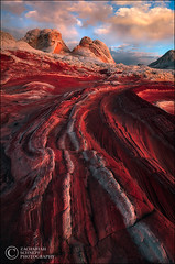 Planet Crimson (Zack Schnepf) Tags: coyote sunset red arizona sunrise landscape sandstone desert earth planet buttes whitepocket