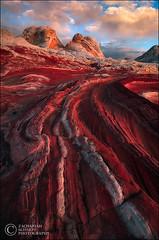 Planet Crimson (Zack Schnepf) Tags: coyote sunset red arizona sunrise landscape sandstone desert earth planet buttes whitepocket