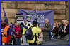 Public Sector Strikes in Preston #strike #n30 : Alan Dent , Associate Secretary for South Ribble NUT :  UNISON Lancs Police Branch Banner :