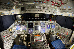 Discovery's Flight Deck (Scriptunas Images) Tags: smithsonian space nasa kennedyspacecenter discovery spaceshuttle flightdeck retirement orbiter spaceflight spaceshuttlediscovery transiting orbiterprocessingfacility
