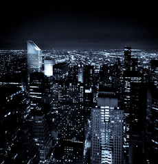 New York City (Surrealplaces) Tags: new york city newyorkcity urban newyork skyline brooklyn night coneyisland cityscape centralpark center rockefeller gotham topoftherock brookylnbridge