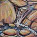 Summer Stream, oil on canvas. Artist: Nancy Brossard