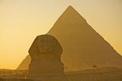 The Sphinx (Matt Champlin) Tags: life africa old travel sunset horses sahara nature sphinx canon temple evening amazing sand ancient desert egypt exotic egyptian huge pyramids horseback giza horsebackriding towering 2010 khafre 2011 thegreatsphinx thegreatpyramidsatgiza pyramidsatsunset sphinxatsunset