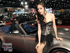 IMG_6254 (tony8888) Tags: show sexy beautiful car race pose thailand costume model expo bangkok queen thong impact thai motor thani muang
