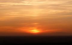 Sunset over Market Weighton (mark_fr) Tags: york sunset sky sun set sunrise volcano view market yorkshire hill estuary vale east dust rise volcanic mere beverley humber hornsea weighton molescroft