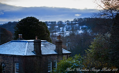 Nice Surprise View From The Bedroom Window! A Nice Dusting Of Snow (Mark Crawshaw) Tags: trees windows snow landscape december chimneys