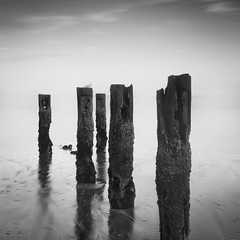 Reflections I (Jack Fusco) Tags: ocean longexposure beach square newjersey seagull fineart nj shore deal jerseyshore groynes groins nd110 jackfusco wwwjackfuscocom