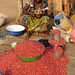 arachides ,peanuts at Bangui Market
