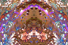 Pan's Grotto (Terence Darby) Tags: abstract art digital painting symmetry organic mythic