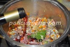 Cinghiale in umido con verdure