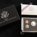 3028. 1992 and 1993 Premier Silver Proof Sets