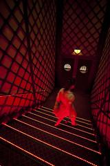 At the movies (D. Kutz) Tags: red woman cinema dubai uae emirates movies
