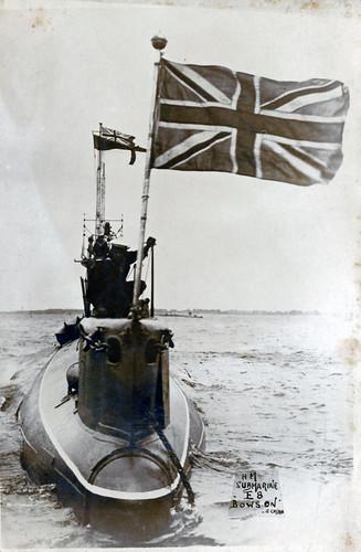 HM Submarine E8