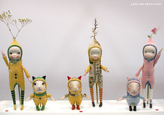 sprout series (LeeJaeYeon) Tags: original art doll handmade creative bisque carrot daisy sprout porcelain leejaeyeon