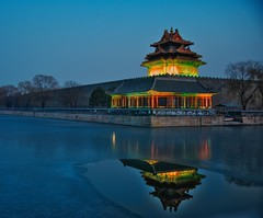 Northwest Corner of the Forbidden City, Beijing. (ShanLuPhoto) Tags: beijing forbiddencity