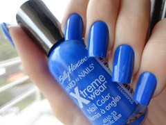 Pacific Blue,Sally Hansen (Lady_Yaya) Tags: blue pacific sally nails hansen unhas esmalte importado