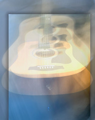 Day 109/365 Dreams Never Die (jane the artist) Tags: blurry guitar dream guitars floating dreaming dreams